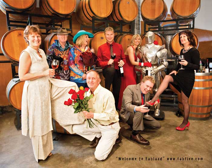 Fab Five winery group in East Kelowna